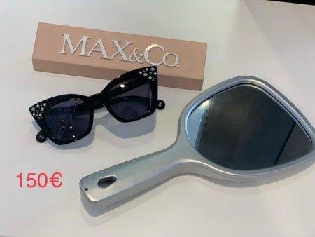Occhiali da sole neri MAX&CO